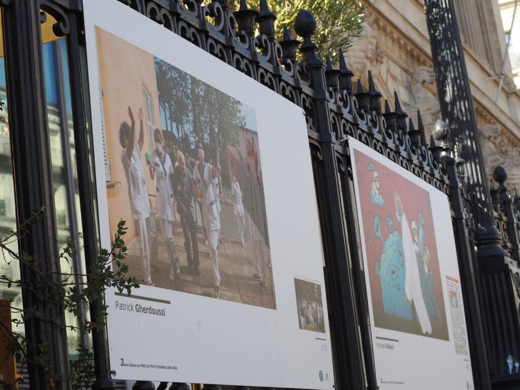 Photographie sur le parvis de la CCI (Crédit: CC/Gomet')
