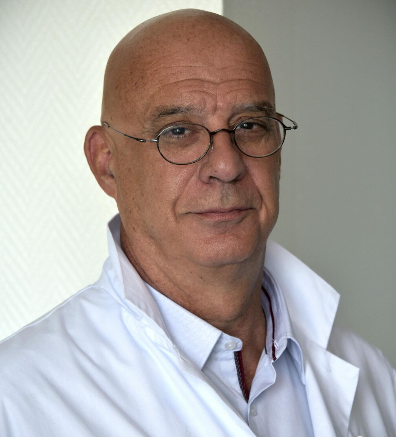 Le Pr Jean-Luc Jouve, président de la commission médicale d'établissement de l'AP-HM (Crédit AP-HM)